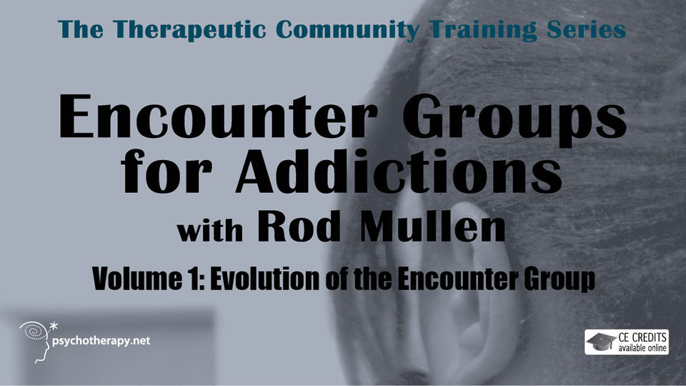 Evolution of the Encounter Group